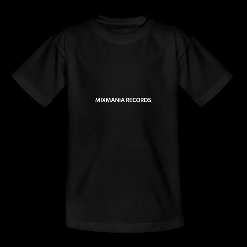 MIXMANIA RECORDS WHITE - Teenage T-Shirt