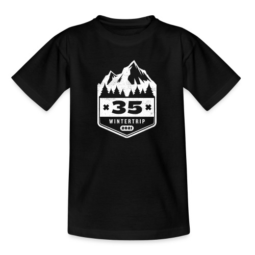 35 ✕ WINTERTRIP ✕ 2021 - Teenager T-shirt