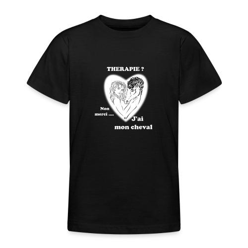 cheval thérapie FS - T-shirt Ado