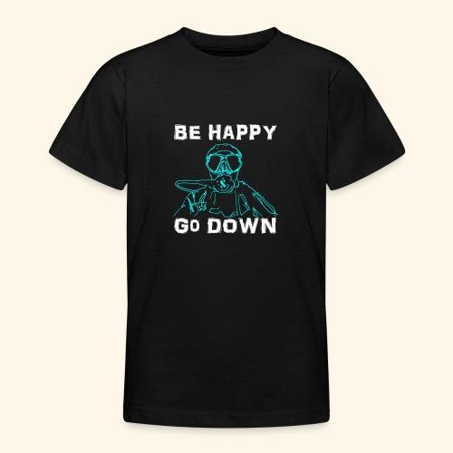 BeHappy001 - Teenager T-shirt