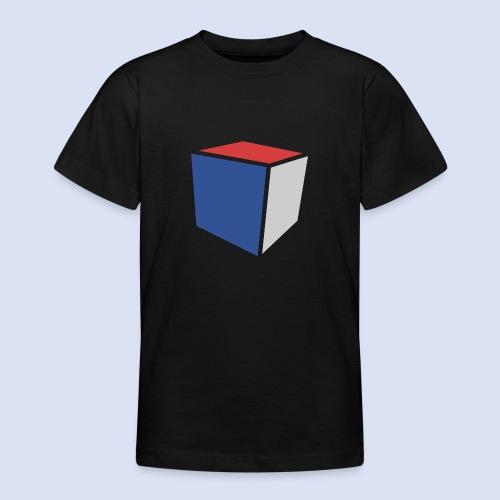 Cube Minimaliste - T-shirt Ado