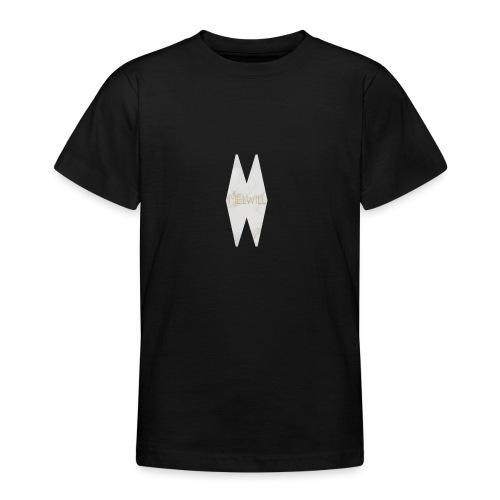 MELWILL white - Teenage T-Shirt