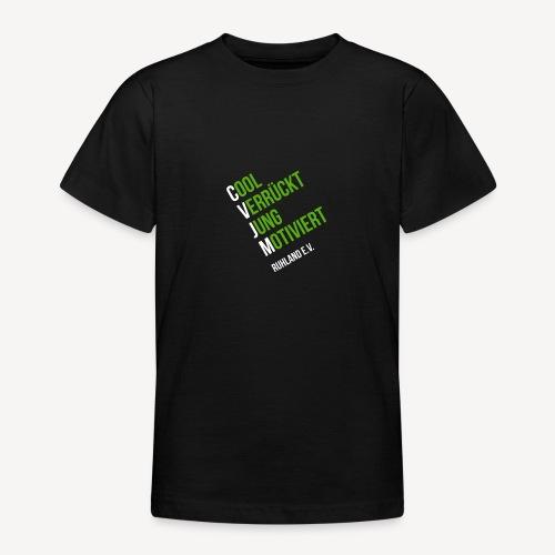 Logo © CVJM Ruhland e.V. klein - Teenager T-Shirt