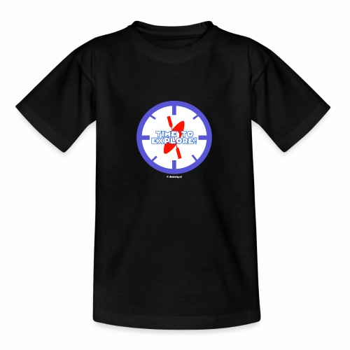 Time To Explore - Teenager T-shirt