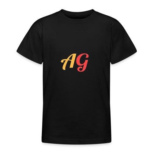 Gekleurde letters - Teenager T-shirt