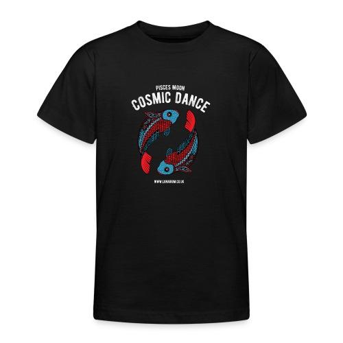 Pisces Moon Dark - Teenage T-Shirt