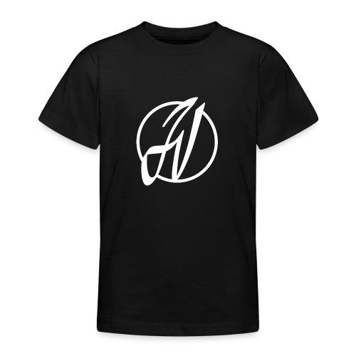 JV Guitars - logo blanc - T-shirt Ado