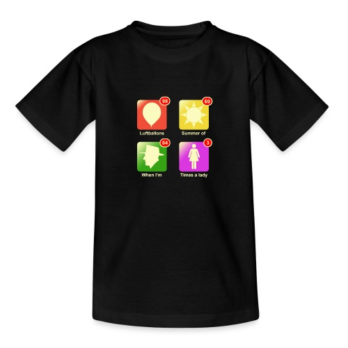 Muziek apps - Teenager T-shirt