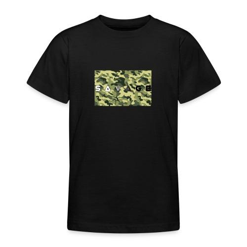 savage camo premium - Teenager T-Shirt