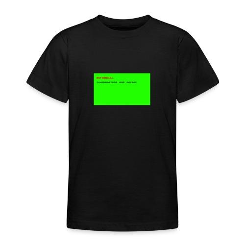 LLAMANATORS = SAVAGE - Teenage T-Shirt