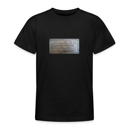 Tillverkningsskylt före 1967 - T-shirt tonåring