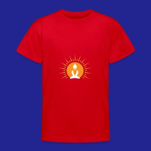 Guramylyfe logo white no text - Teenage T-Shirt