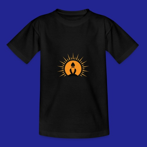 Guramylife logo black - Teenage T-Shirt