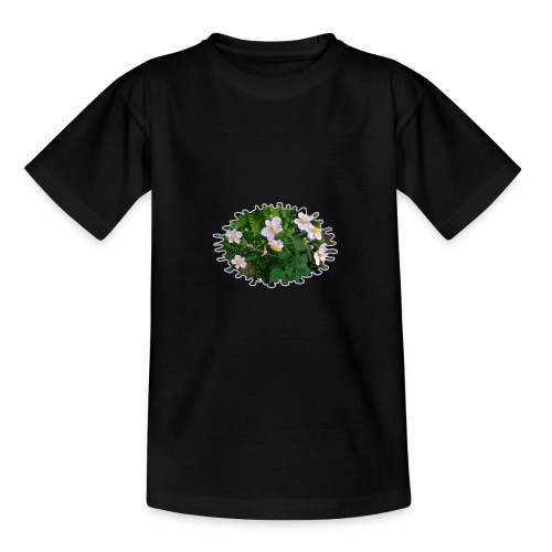 Blümchen hellviolett - Teenager T-Shirt