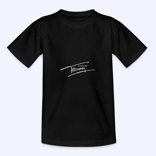 Einfach Tommy / White Font - Teenager T-Shirt