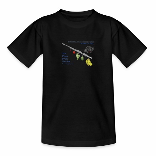 Experimental Musical Instruments - Flute Fruit - Teenage T-Shirt
