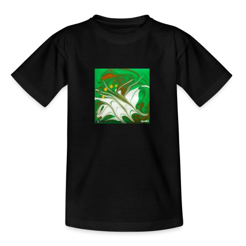TIAN GREEN Mosaik CG002 - quaKI - Teenager T-Shirt