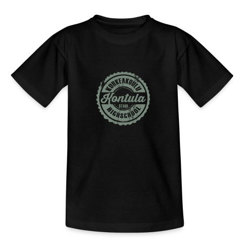 06V-KONTULAN KORKEAKOULU - Tekstiilit ja lahjat - Nuorten t-paita