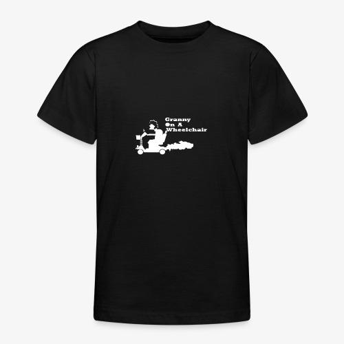 g on wheelchair - Teenage T-Shirt