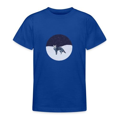 Blue fox - Nuorten t-paita
