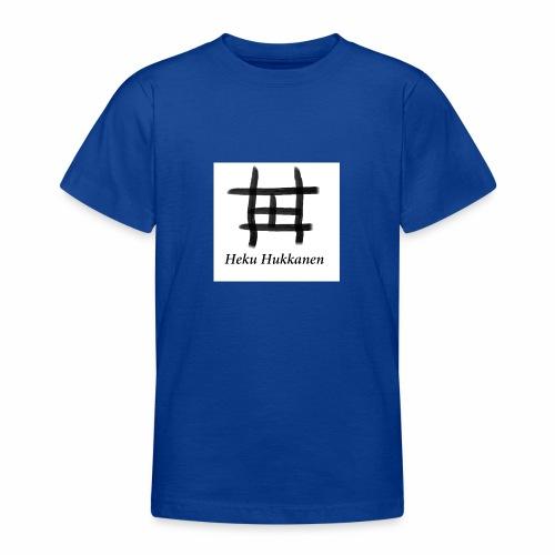 taulu 2 - Nuorten t-paita