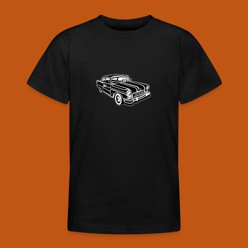 Chevy Cadilac / Muscle Car 02_schwarz weiß - Teenager T-Shirt