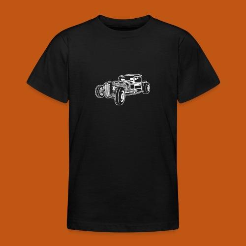 Hot Rod / Rad Rod 06_weiß - Teenager T-Shirt