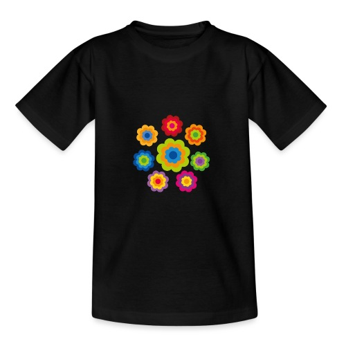 limited edition 4b flower power - Teenager T-Shirt
