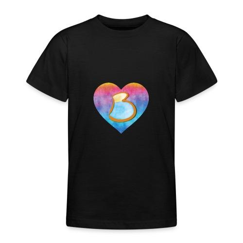 Be a B Heart - Teenage T-Shirt
