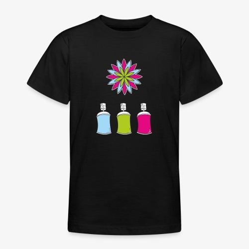 SOLRAC Spray of colors - Camiseta adolescente