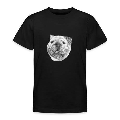 EngelskBulldog M - Teenager-T-shirt
