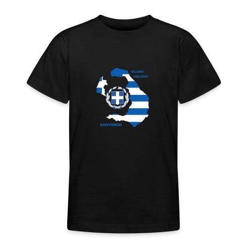 Santorini Island Holiday - Teenager T-Shirt