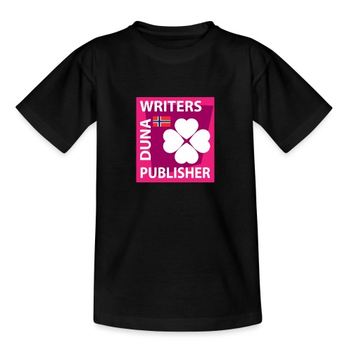 Duna Writers Publisher Pink - T-skjorte for tenåringer