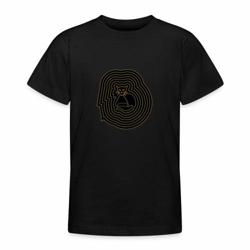 katzen spirale 6 - Teenager T-Shirt