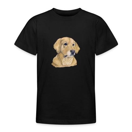 labrador yellow - pastel - Teenager-T-shirt