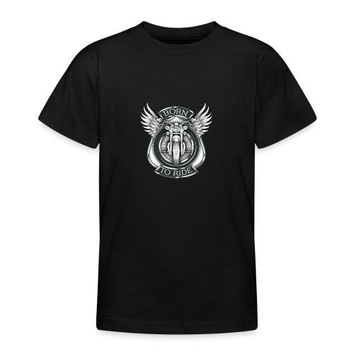 BORN TO RIDE - Camiseta adolescente