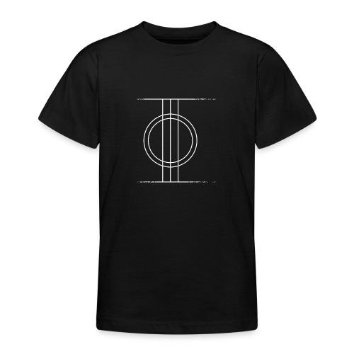 Sapmi black - T-skjorte for tenåringer