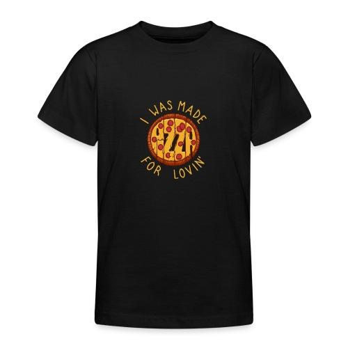 PIZZA LOVER - Koszulka młodzieżowa