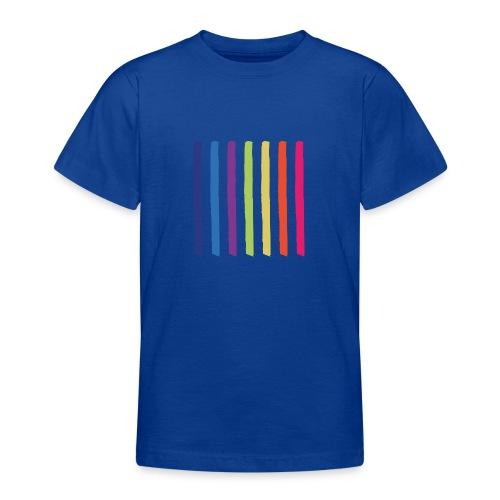 Linjer - Teenager-T-shirt