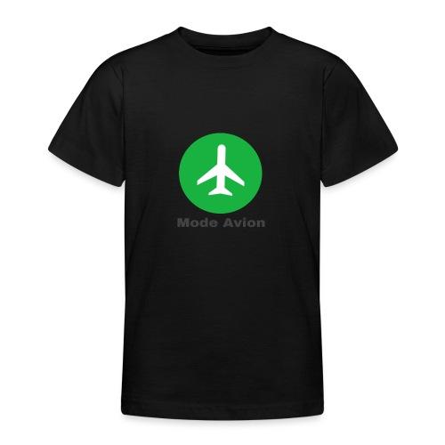 Mode Avion - T-shirt Ado