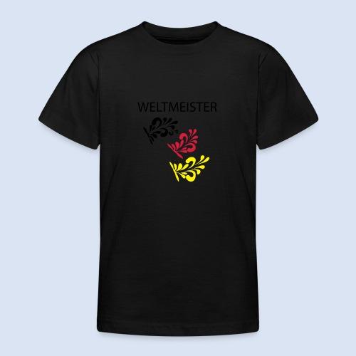 Frankfurt Bembelschwung - Teenager T-Shirt