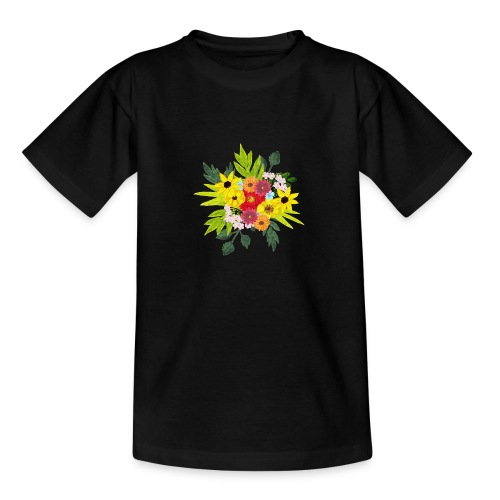Flower_arragenment - Teenage T-Shirt