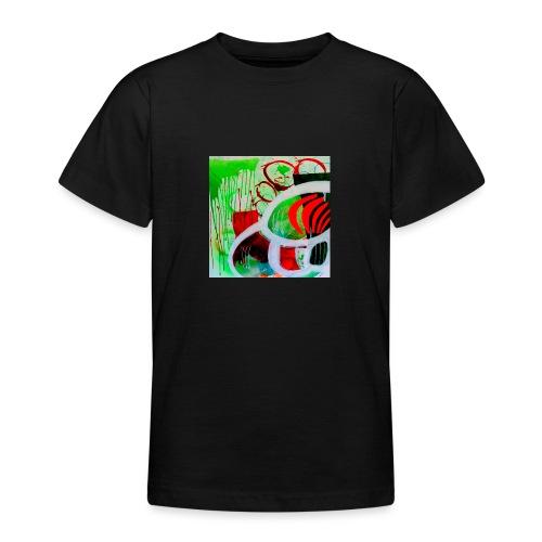 NIZE_art_t-shirt-jpg - Teenager-T-shirt