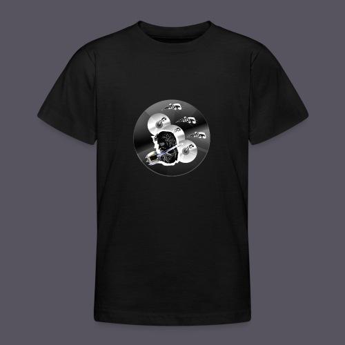 schwarze Schmuck CD - Teenager T-Shirt