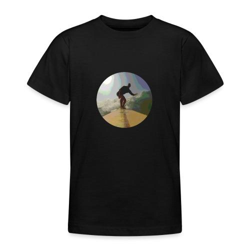 Isle_of_Surfing - Teenage T-Shirt