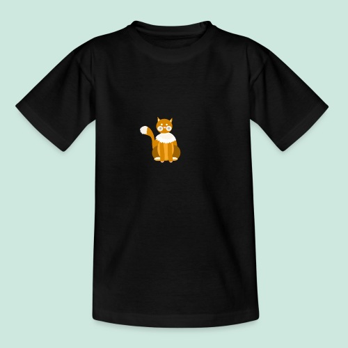 Kitty cat - Teenage T-Shirt