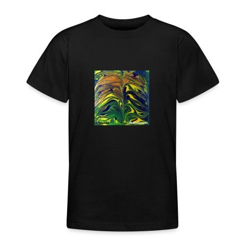 TIAN GREEN Mosaik DE029 - Lebensbaum - Teenager T-Shirt
