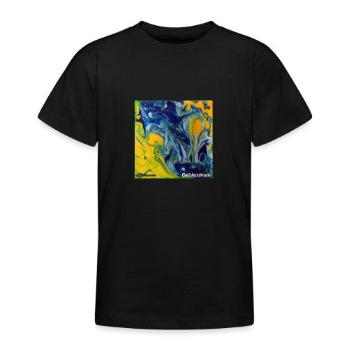 TIAN GREEN Mosaik DE031 - Geistesstrom - Teenager T-Shirt