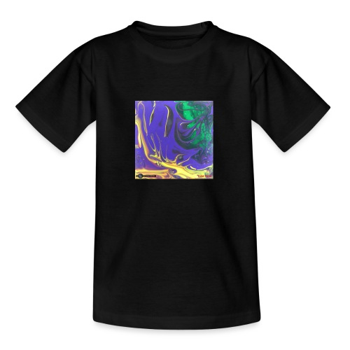 TIAN GREEN Mosaik DK010 - Free flow - Teenager T-Shirt
