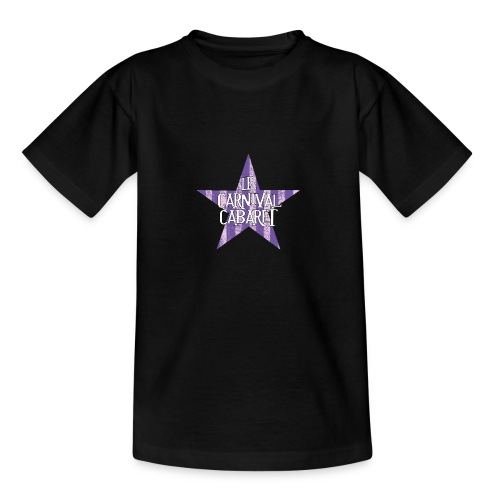 bonnet LCC noir etoie violette - Teenage T-Shirt